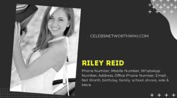 Riley Reid Phone Number, WhatsApp Number, Contact Number, Office Phone Number