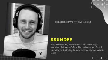 SSundee Phone Number, WhatsApp Number, Contact Number, Office Phone Number