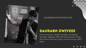 Saurabh Dwivedi  Phone Number, WhatsApp Number, Contact Number, Office Phone Number