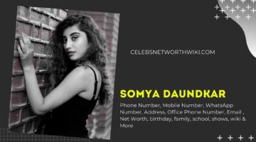 Somya Daundkar Phone Number, WhatsApp Number, Contact Number, Office Phone Number