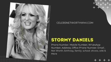 Stormy Daniels Phone Number, WhatsApp Number, Contact Number, Office Phone Number