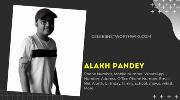 Alakh Pandey (Physics Wallah) Phone Number, WhatsApp Number, Contact Number, Office Phone Number