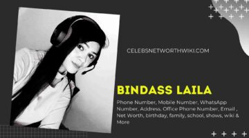 Bindass Laila Phone Number, WhatsApp Number, Contact Number, Office Phone Number