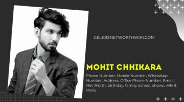 Mohit Chhikara Phone Number, WhatsApp Number, Contact Number, Office Phone Number