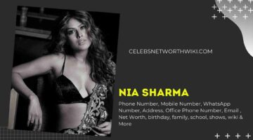 Nia Sharma Phone Number, WhatsApp Number, Contact Number, Office Phone Number