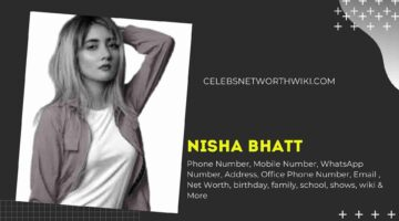 Nisha Bhatt Phone Number, WhatsApp Number, Contact Number, Office Phone Number