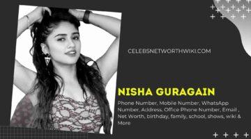Nisha Guragain Phone Number, WhatsApp Number, Contact Number, Office Phone Number