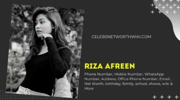 Riza Afreen Phone Number, WhatsApp Number, Contact Number, Office Phone Number