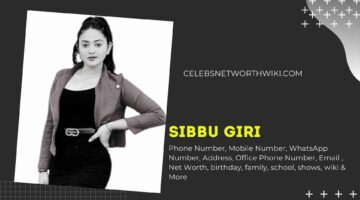Sibbu Giri Phone Number, WhatsApp Number, Contact Number, Office Phone Number