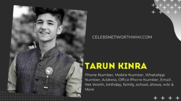 Tarun Kinra Phone Number, WhatsApp Number, Contact Number, Office Phone Number
