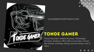 Tonde Gamer Phone Number, WhatsApp Number, Contact Number, Office Phone Number