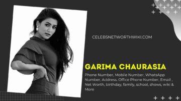 Garima Chaurasia (Gima Ashi) Phone Number, WhatsApp Number, Contact Number, Office Phone Number