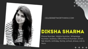 Diksha Sharma Phone Number, WhatsApp Number, Contact Number, Office Phone Number