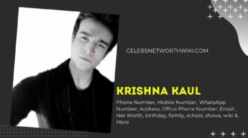 Krishna Kaul Phone Number, WhatsApp Number, Contact Number, Office Phone Number