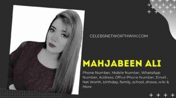 Mahjabeen Ali Phone Number, WhatsApp Number, Contact Number, Office Phone Number