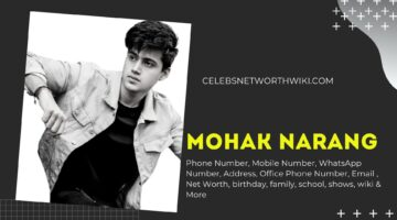 Mohak Narang Phone Number, WhatsApp Number, Contact Number, Office Phone Number