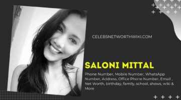 Saloni Mittal Phone Number, WhatsApp Number, Contact Number, Office Phone Number