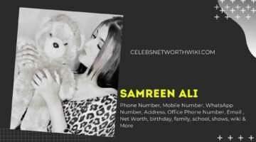 Samreen Ali Phone Number, WhatsApp Number, Contact Number, Office Phone Number
