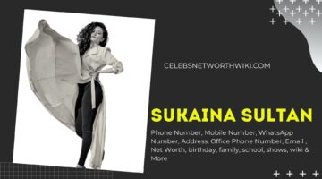 Sukaina Sultan  Phone Number, WhatsApp Number, Contact Number, Office Phone Number