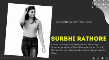 Surbhi Rathore Phone Number, WhatsApp Number, Contact Number, Office Phone Number
