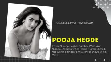 Pooja Hegde Phone Number, WhatsApp Number, Contact Number, Office Phone Number