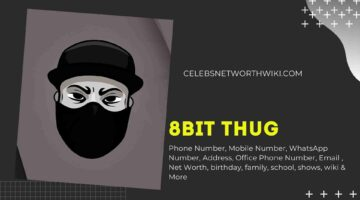 8bit Thug Phone Number, WhatsApp Number, Contact Number, Office Phone Number