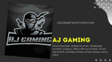 AJ Gaming Phone Number, WhatsApp Number, Contact Number, Office Phone Number