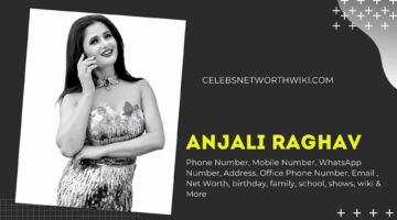 Anjali Raghav Phone Number, WhatsApp Number, Contact Number, Office Phone Number