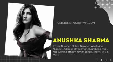 Anushka Sharma Phone Number, WhatsApp Number, Contact Number, Office Phone Number
