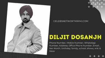Diljit Dosanjh Phone Number, WhatsApp Number, Contact Number, Office Phone Number