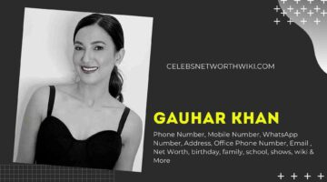 Gauhar Khan Phone Number, WhatsApp Number, Contact Number, Office Phone Number