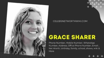 Grace Sharer Phone Number, WhatsApp Number, Contact Number, Office Phone Number