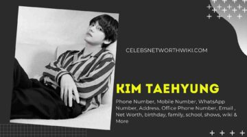 Kim Taehyung V Phone Number, WhatsApp Number, Contact Number, Office Phone Number
