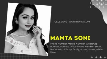 Mamta Soni Phone Number, WhatsApp Number, Contact Number, Office Phone Number