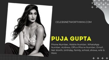 Puja Gupta Phone Number, WhatsApp Number, Contact Number, Office Phone Number
