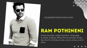 Ram Pothineni Phone Number, WhatsApp Number, Contact Number, Office Phone Number