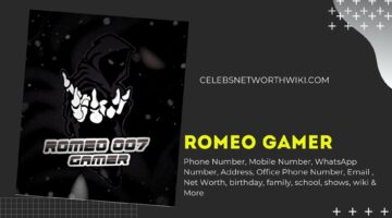 Romeo Gamer Phone Number, WhatsApp Number, Contact Number, Office Phone Number
