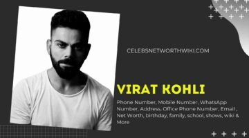 Virat Kohli Phone Number, WhatsApp Number, Contact Number, Office Phone Number