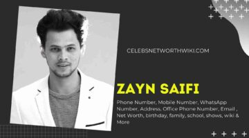 Zayn Saifi Phone Number, WhatsApp Number, Contact Number, Office Phone Number