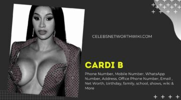Cardi B Phone Number, WhatsApp Number, Contact Number, Office Phone Number
