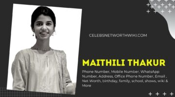 Maithili Thakur Phone Number, WhatsApp Number, Contact Number, Office Phone Number