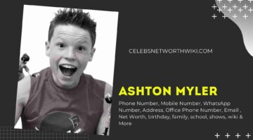 Ashton Myler Phone Number, Texting Number, Contact Number, Office Phone Number