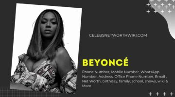 Beyoncé Phone Number, Texting Number, Contact Number, Office Phone Number