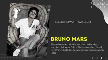 Bruno Mars Phone Number, Texting Number, Contact Number, Office Phone Number
