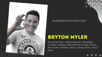 Bryton Myler Phone Number, Texting Number, Contact Number, Office Phone Number