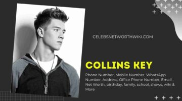 Collins Key Phone Number, Texting Number, Contact Number, Office Phone Number