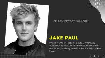 Jake Paul Phone Number, Texting Number, Contact Number, Office Phone Number