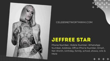 Jeffree Star Phone Number, Texting Number, Contact Number, Office Phone Number