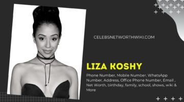 Liza Koshy Phone Number, WhatsApp Number, Contact Number, Office Phone Number