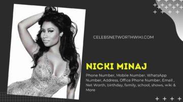 Nicki Minaj Phone Number, WhatsApp Number, Contact Number, Office Phone Number